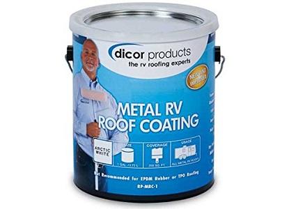 Dicor Metal RV Roof Coating