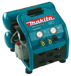 makita big bore 2.5 hp portable air compressor