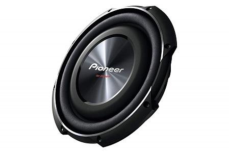 pioneer ts 1,200 watt 10 inch shallow mount subwoofer